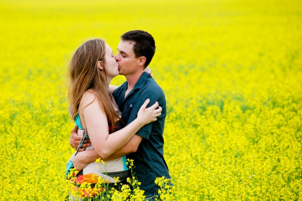 Canola field Engagement
